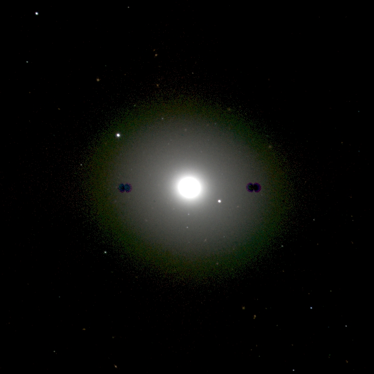 Anne's Image of the Day: elliptical galaxy Messier 105   Anne's ...